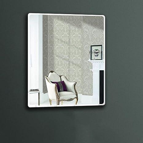 fotos de espejos decorativos para salas JKAD Espejo De Pared Cuarto De Bao Espejo Para Colgar En La