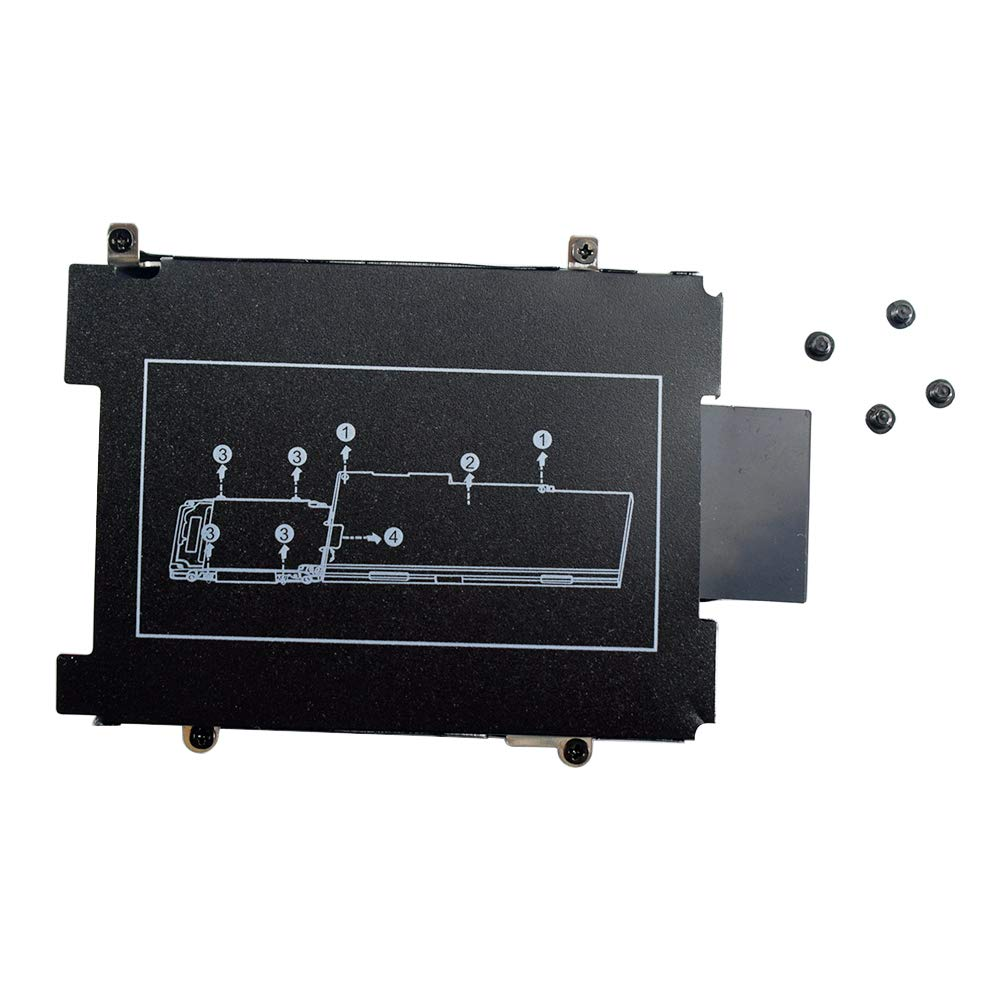 Hard Drive Caddy Bracket with Screws Replacement for HP EliteBook 840 850 740 750 745 755 G3 Series Laptop (NOT Compatible with 840 G1 G2)