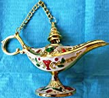 Holyland NEW Oil Decorative Genie Lamps- Solid Brass-incense, an Exotic Collection