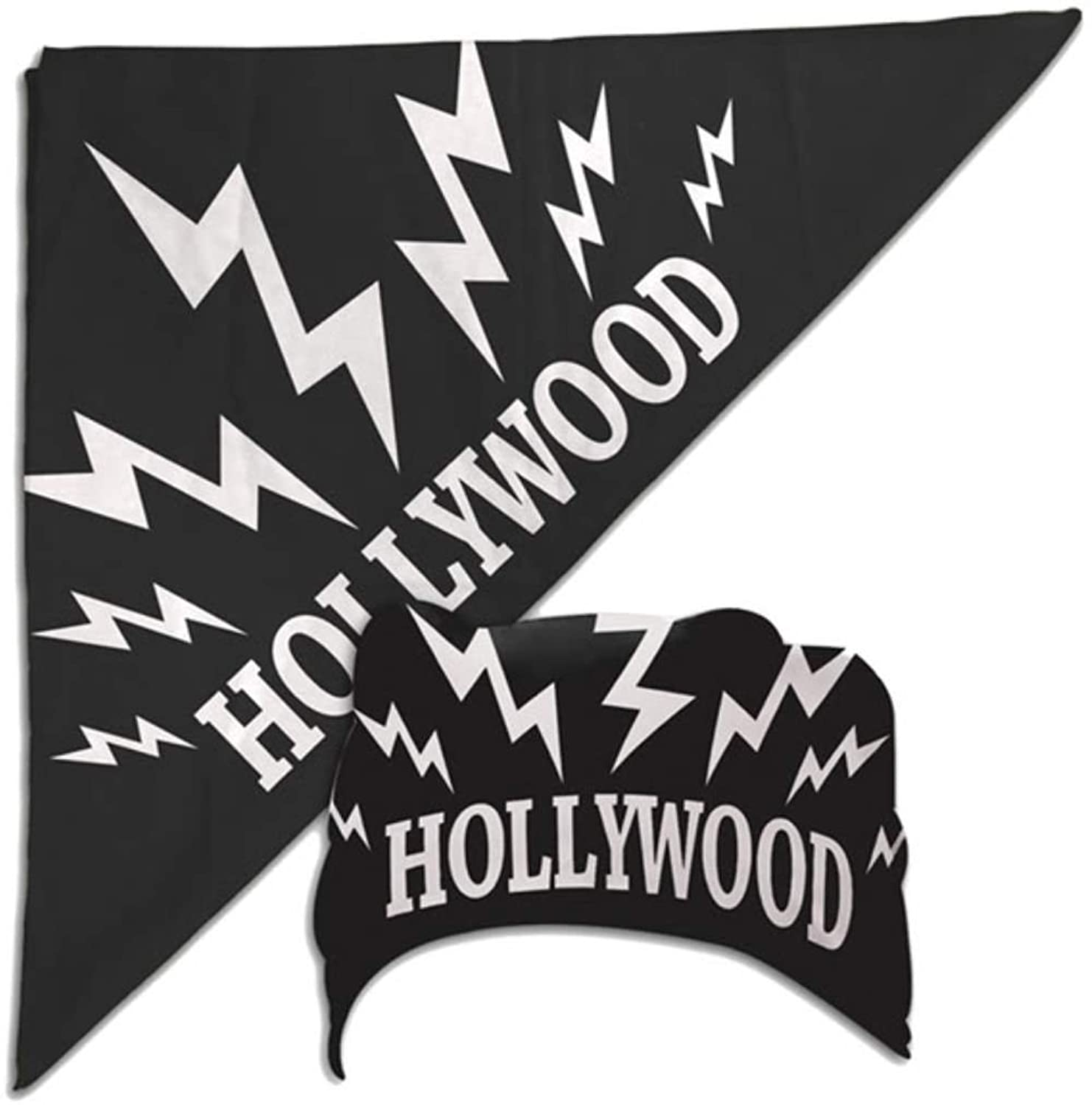 amazon com hulk hogan black hollywood sparks bandana new clothing