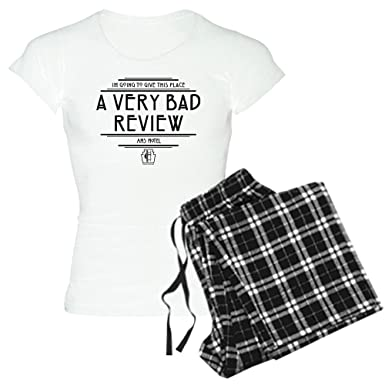 CafePress American Horror Story Hotel - Womens Novelty Cotton Pajama Set, Comfortable PJ Sleepwear