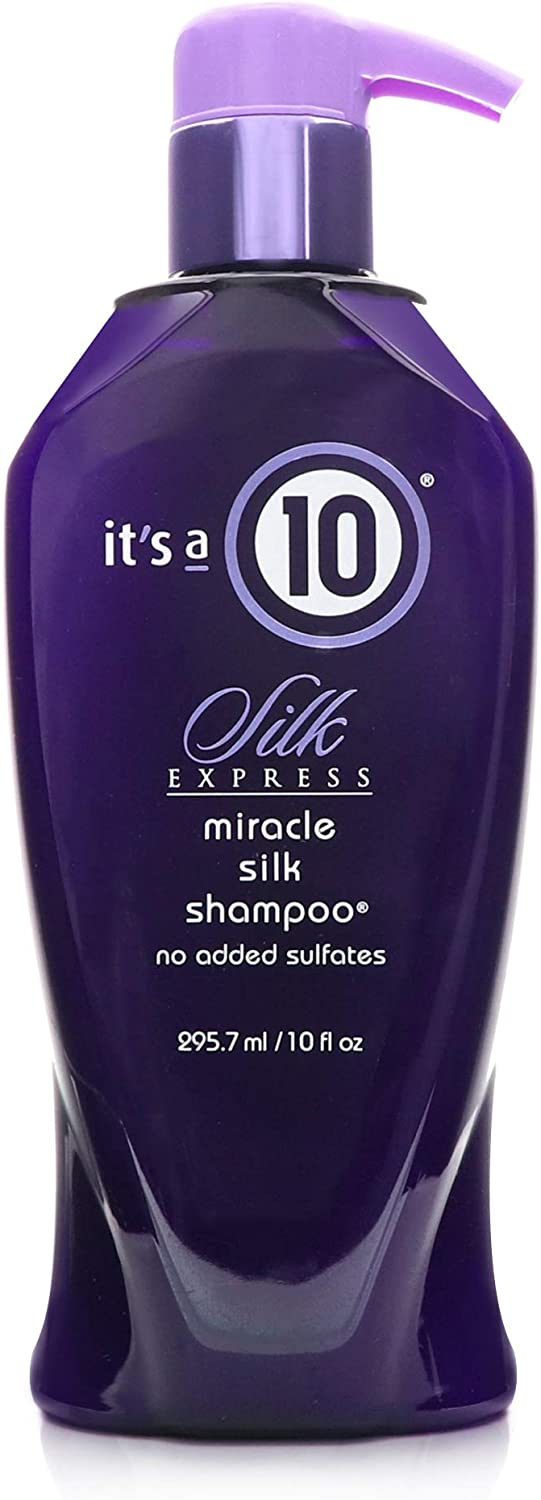 It's a 10 Haircare Silk Express Miracle Silk Shampoo, 10 fl. oz.