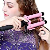 Hair Curling Wands 3 Barrel Hair Waver Hair