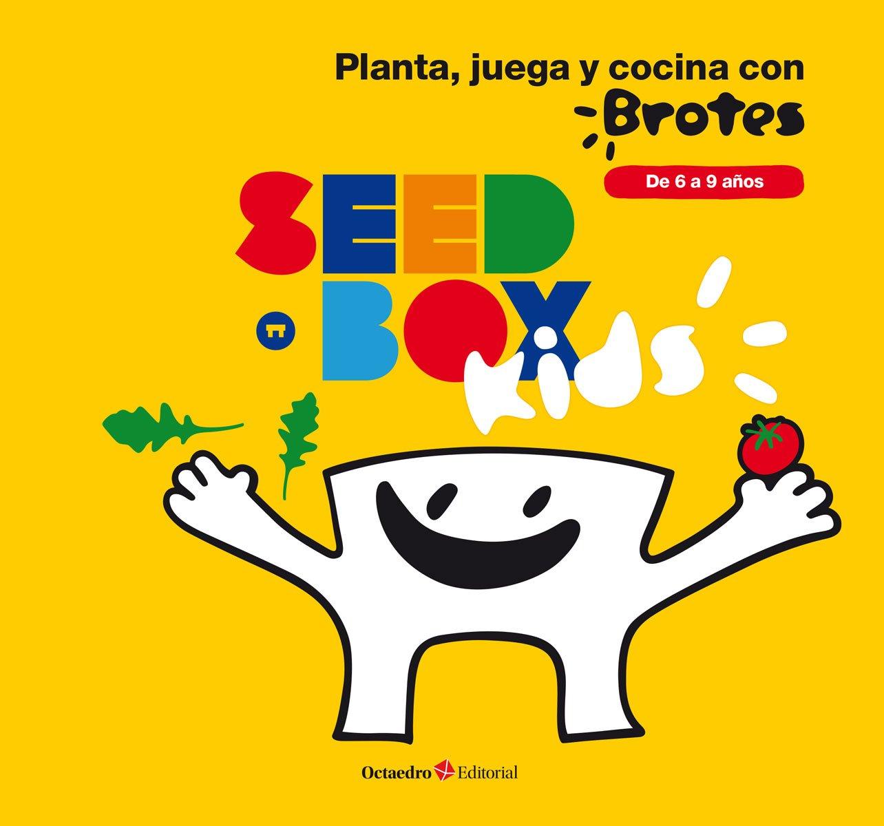 Seedbox SBKBR - Huerto urbano infantil de rúcula y tomates cherry, color blanco (Brotes) Carlos Llevat Susana Torre Ecohortum 00301