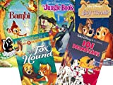 Disney Animal Classics: Bambi, The Jungle Book, 101 Dalmatians, Lady and the Tramp, The Fox and the Hound