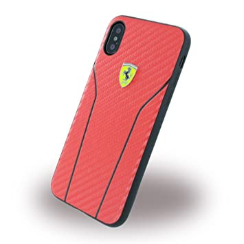 carcasa iphone x roja