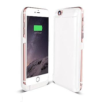 Mini kitty Externos 5800 mah batería Funda Cargador Para Apple iphone 6 6S 4.7 blanco
