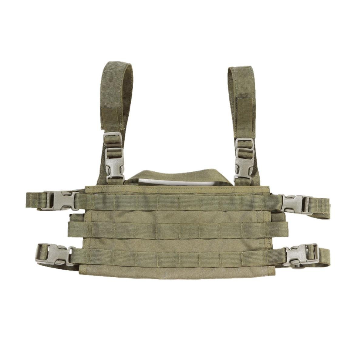 High Speed Gear AO Small Modular Chest Rig Battle, Proven & USA Made, Olive Drab