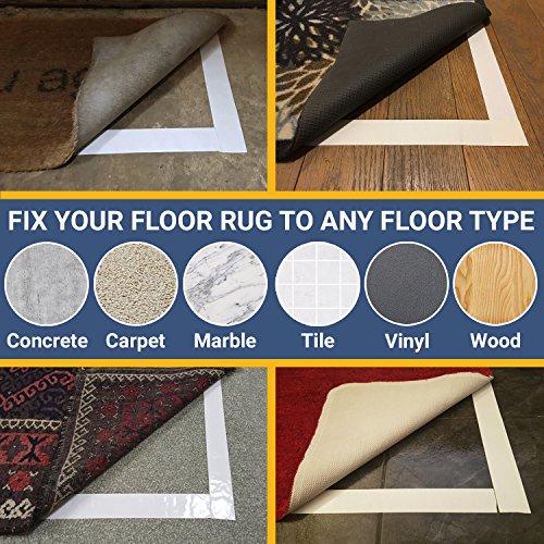 New Original Carpet Tape 90ft Roll For Rugs Mats Pads