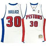 3ccceb269aa Mitchell   Ness Rasheed Wallace Detroit Pistons Throwback Swingman Jersey