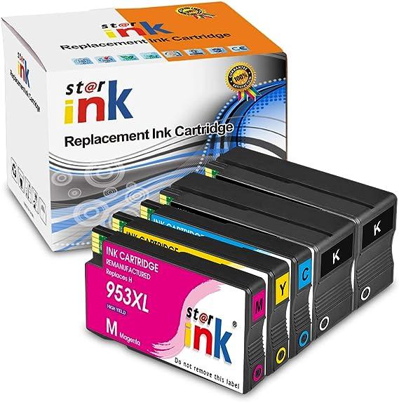 Starink - Cartuchos de tinta compatibles con HP 953XL 953 XL para ...