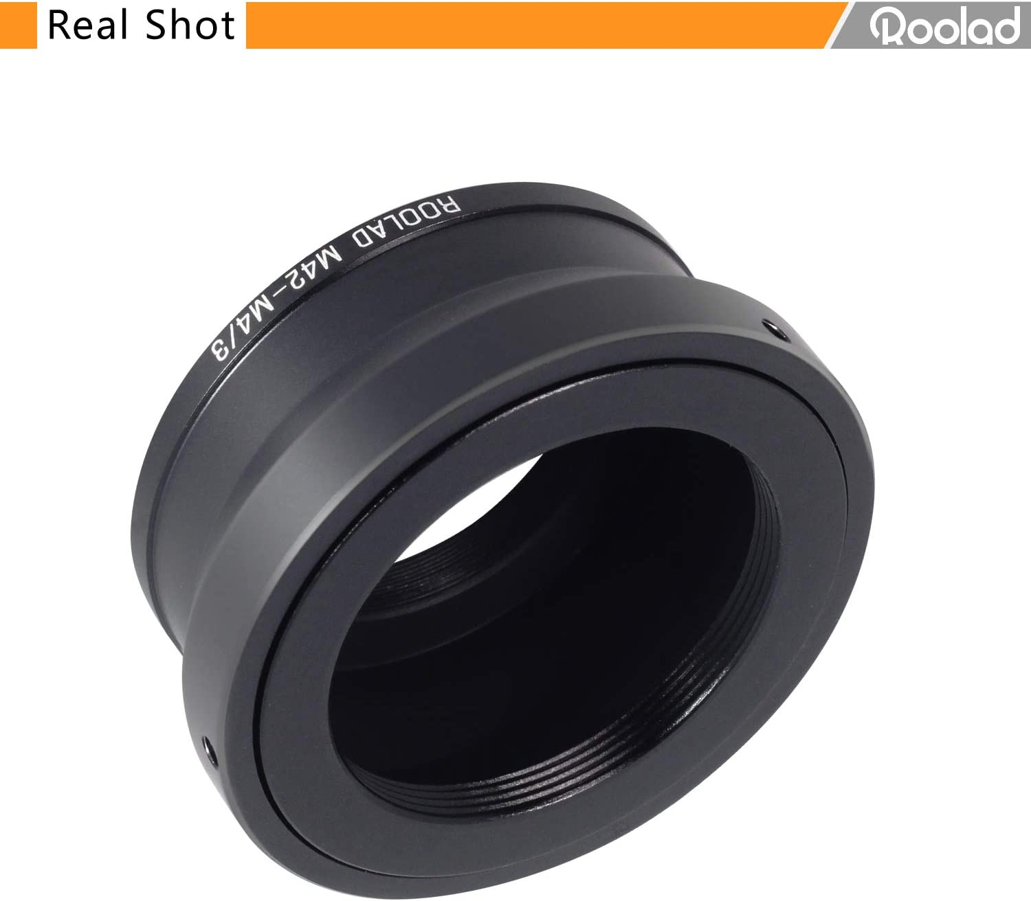 M42-M4//3 Adapter for pentacon zeiss Helios Lens to MFT Camera Olympus No Plate, Silver Panasonic etc. XiaoYi