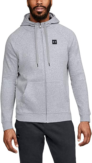 Under Armour Rival Sweat Shirt Polaire zippé pour Homme