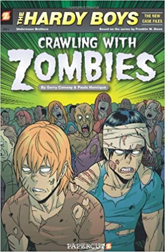hardy boys the new case files 1 crawling with zombies the hardy