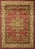 """Home Dynamix Royalty Ursa 5'2""""x7'2"""" Area Rug in Red"""