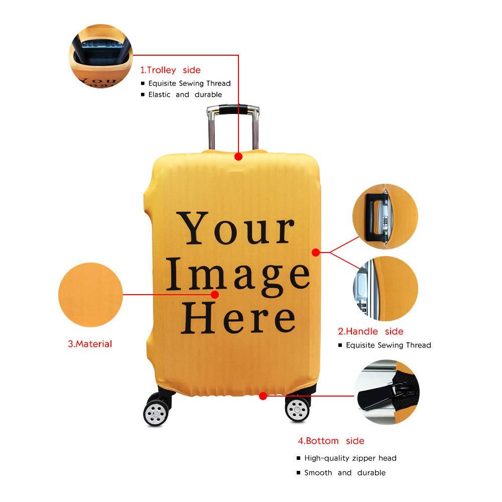 Dise/ño Unico Funda Protectora para Maleta de Viaje para Maletas Medidas de 18-32 Pulgadas Funda Lavable Protector de Equipaje Varios Estilos Personalidad Patr/ón de Impresi/ón 3D