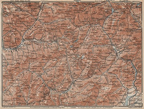 dolomiti-primiero-paneveggio-san-pellegrino-san-martin-di-castrozza-1927-old-map-antique-map-vintage