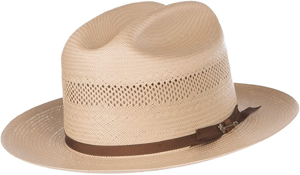 Stetson Hats Mens 10X Open Road Toast 2 3/4 Brim