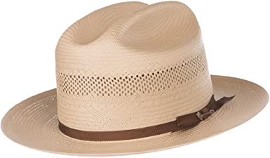 Stetson Open Road/Straw Western Hat Natural