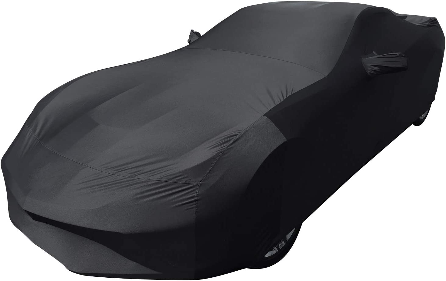 Car Cover Car Tarpaulin Compatible with Ford Mustang GT Full Garage Tarpaulin Waterproof Sun Protection Dustproof Windproof Rain Cover All-Weather Car Cover Color : Black