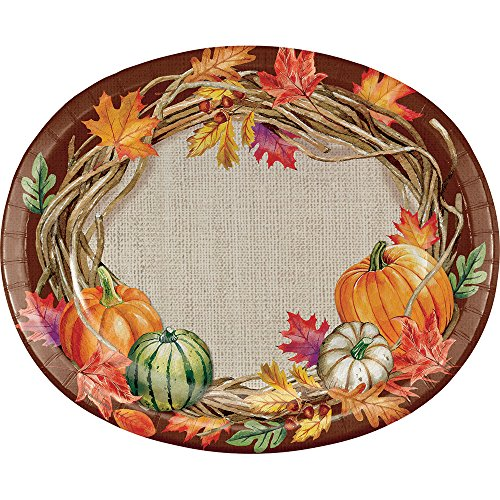 Oval Berry Wreath - 8