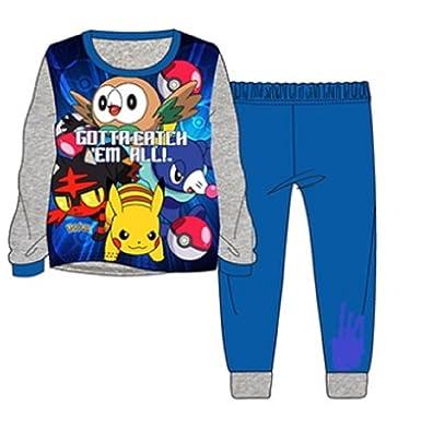 Ages 4-5,5-6,7-8 and 9-10 Years Pokemon Pyjamas