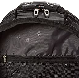 SwissGear SA3253 Black with Grey TSA Friendly ScanSmart Computer Backpack-Fits Most 15 Inch Laptops and Tablets