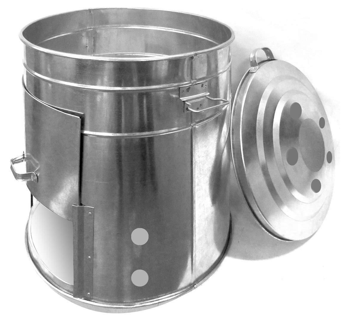Guillouard - Aireador de Compost (120 L, Chapa galvanizada ...