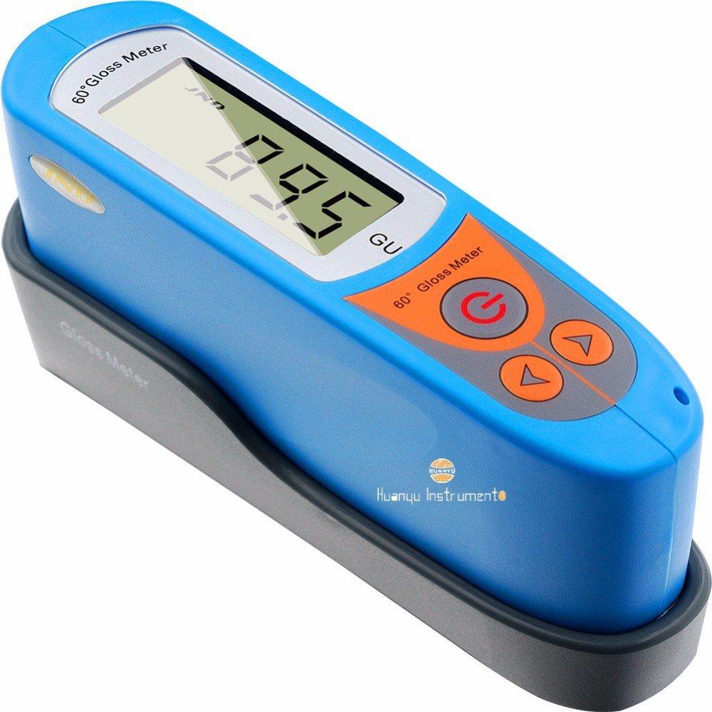 /199/GU Huanyu MS6/Gloss Meter Glossmetro Glarimeter Vancometer Fotometria colore luminosit/à calibro misuratore tester 0/