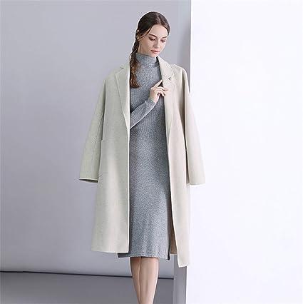 produzione cappotti in lana e cashmere donna