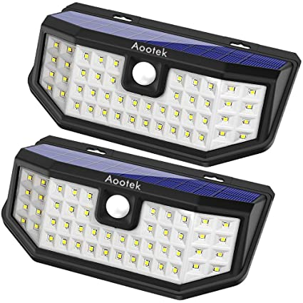 buy popular 72cd4 74224 Aootek Upgraded 36 LED Solar Lights with Wide Angle ...