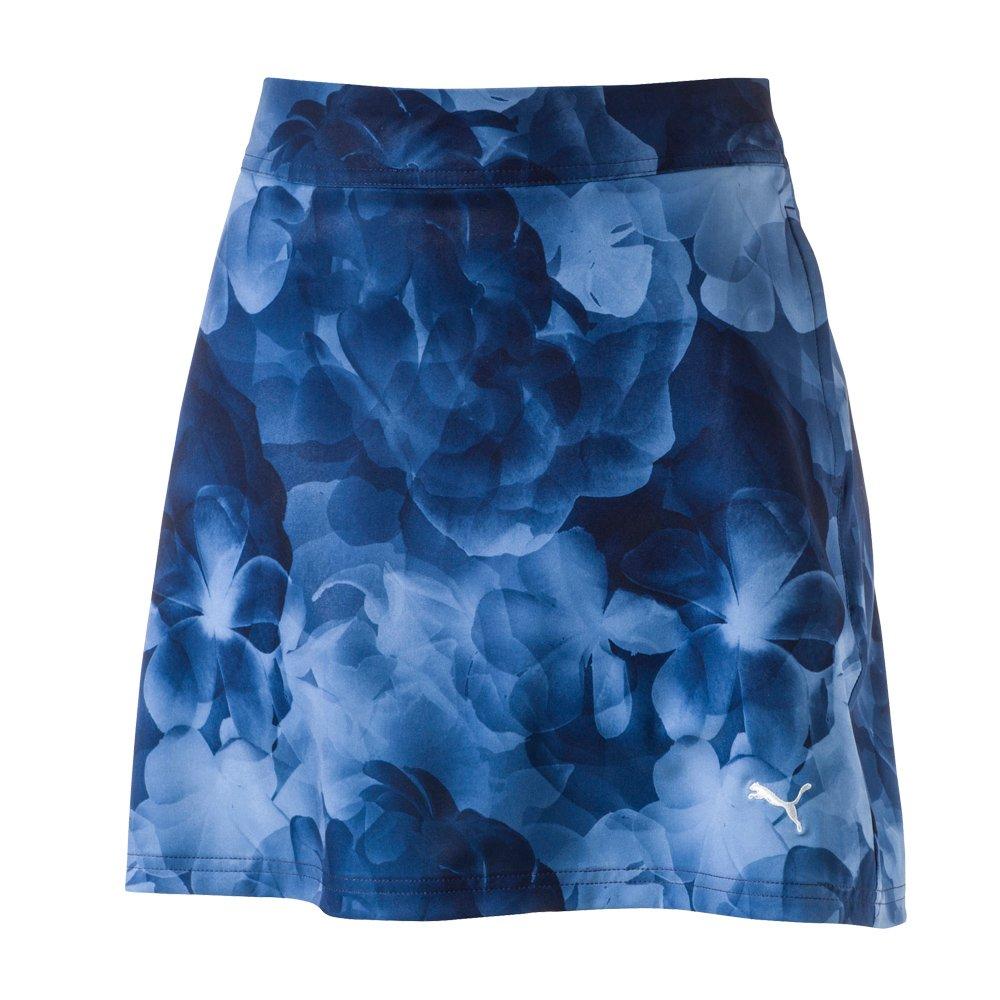 PUMA Golf Women's Bloom Skirt Peacoat Skirt