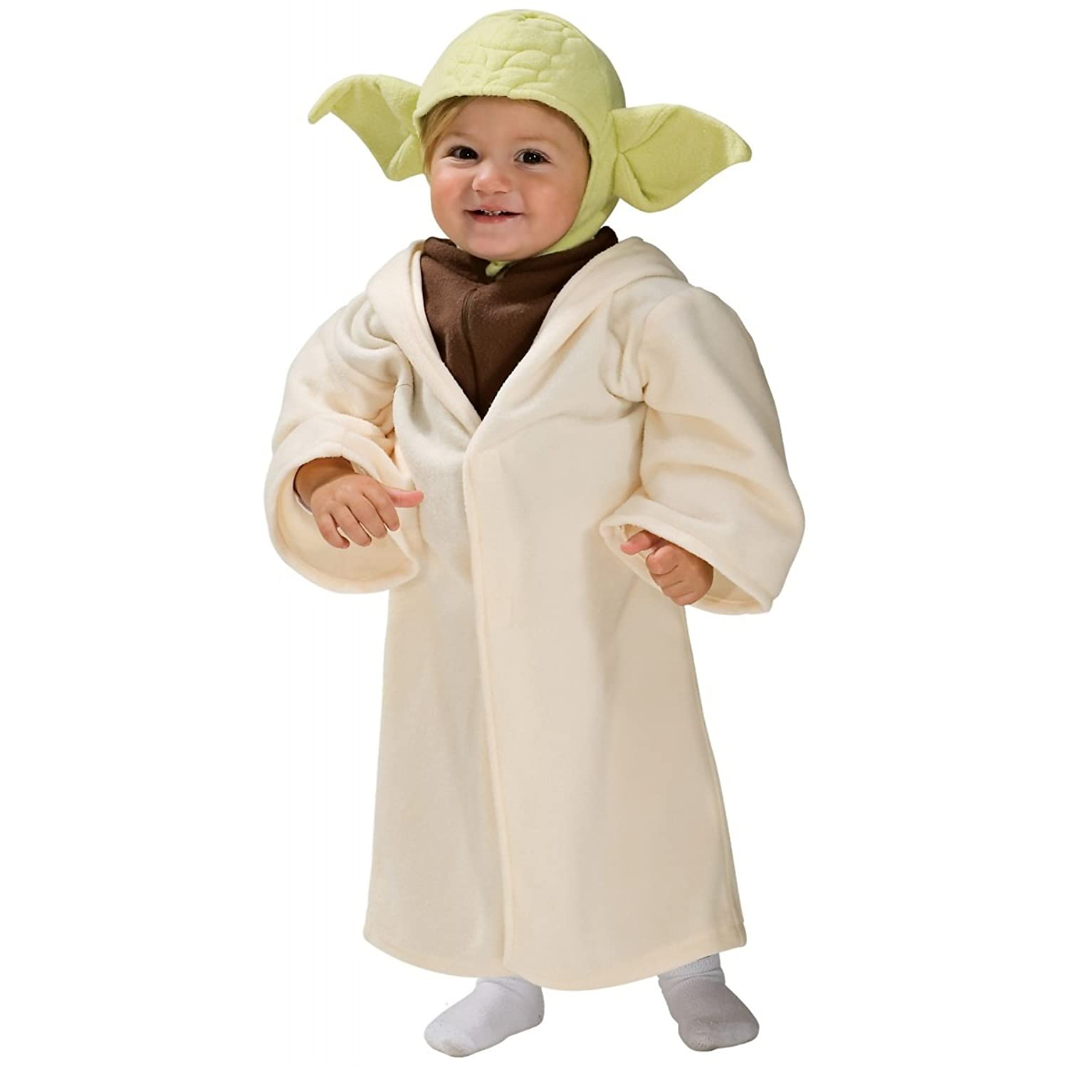 amazon com star wars classic yoda costume size toddler 2 4 clothing