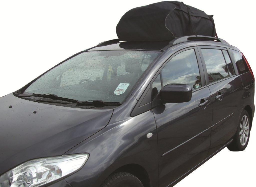 Car Roof Top Cargo Bag Carrier Ideal For Cars With Existing Rails Amazoncouk Motorbike