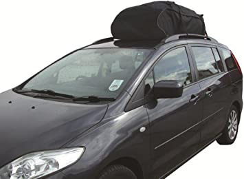 Car Roof Top Cargo Bag Carrier Ideal For Cars With Existing Rails