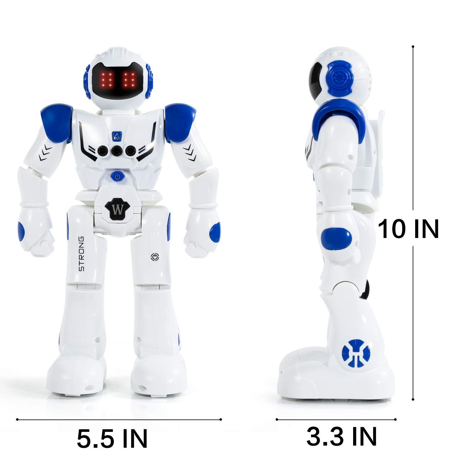 KINFAYV Smart Robot Toy - Remote Control Robot, RC Programmable Educational Robot for Kids Birthday Gift Present, Interactive Walking Singing Dancing Smart Intelligent Robotics for Kids by KINFAYV (Image #5)