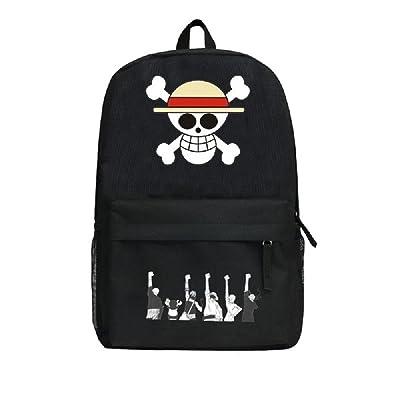 Siawasey Anime One Piece Cosplay Laptop Bag Bookbag Backpack School Bag