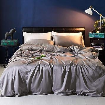 Flannelette Duvet Cover Set King Size Double Single Cotton Bedding Pillowcases