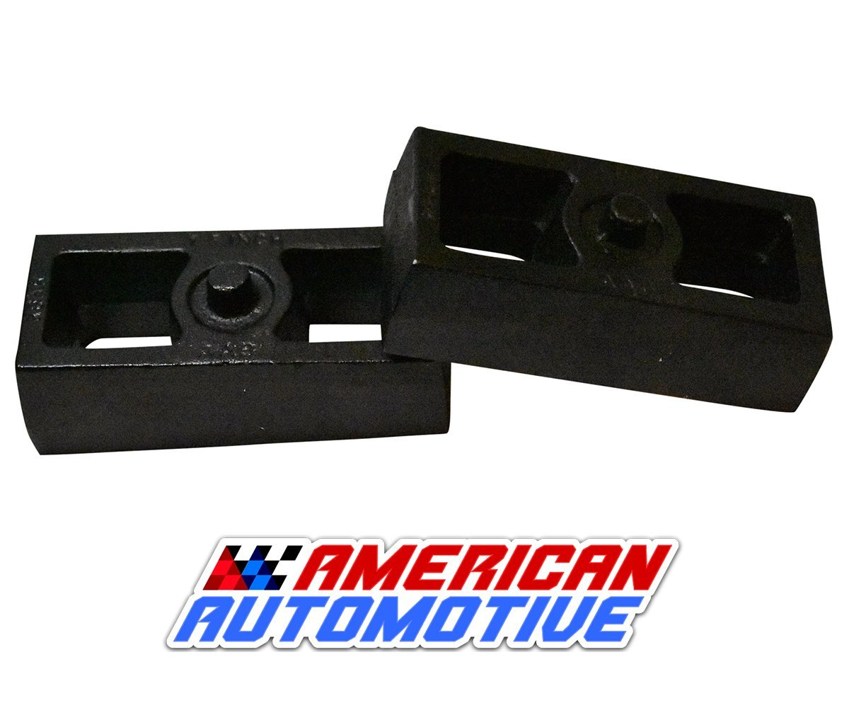 1980-1996 Bronco Lift Kit 1.5' Rear Solid American Steel Lift Blocks American Automotive