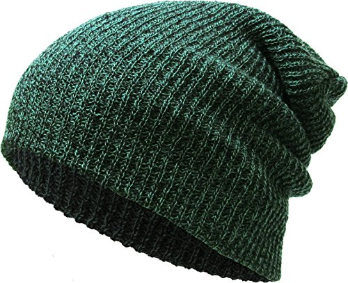 KBW-10 KGN Slouchy Beanie Baggy Style Skull Cap Winter Unisex Ski Hat