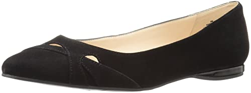 Nine West Women's Seeya Suede Pointed Toe Flat