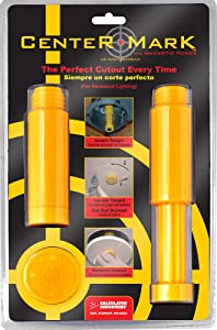 Calculated Industries 8110 Center Mark Drywall Recessed Lighting Cutout Locator Tool