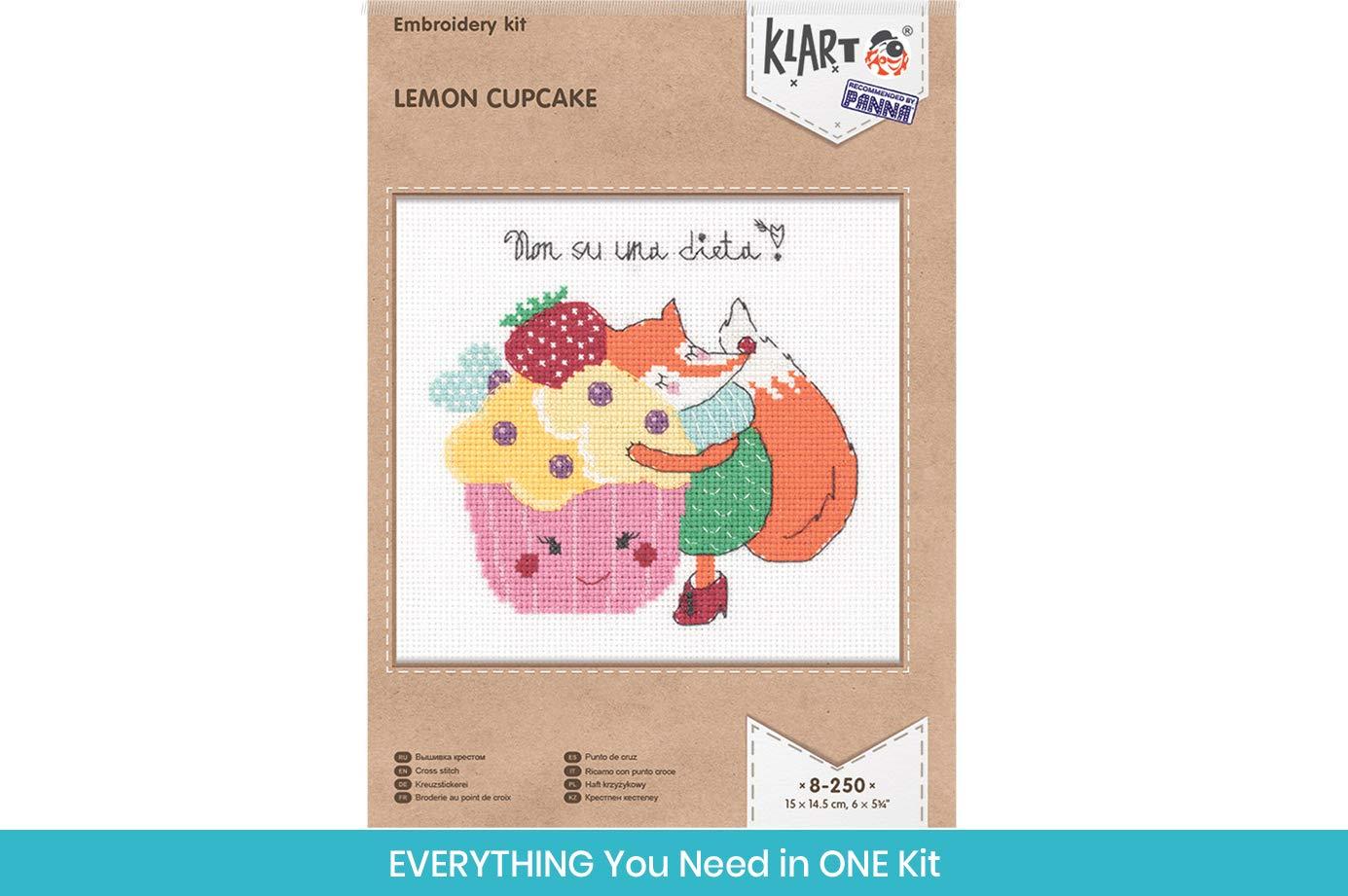 "Cross Stitch Kits for Adults 14 x 18cm Fun Needlework Pattern Little Corgi Counted 5.5/"" x 7/"" DIY Cross Stich Kit KLART Embroidery Kit Cute Animals Cross Stitch Kits for Beginners"