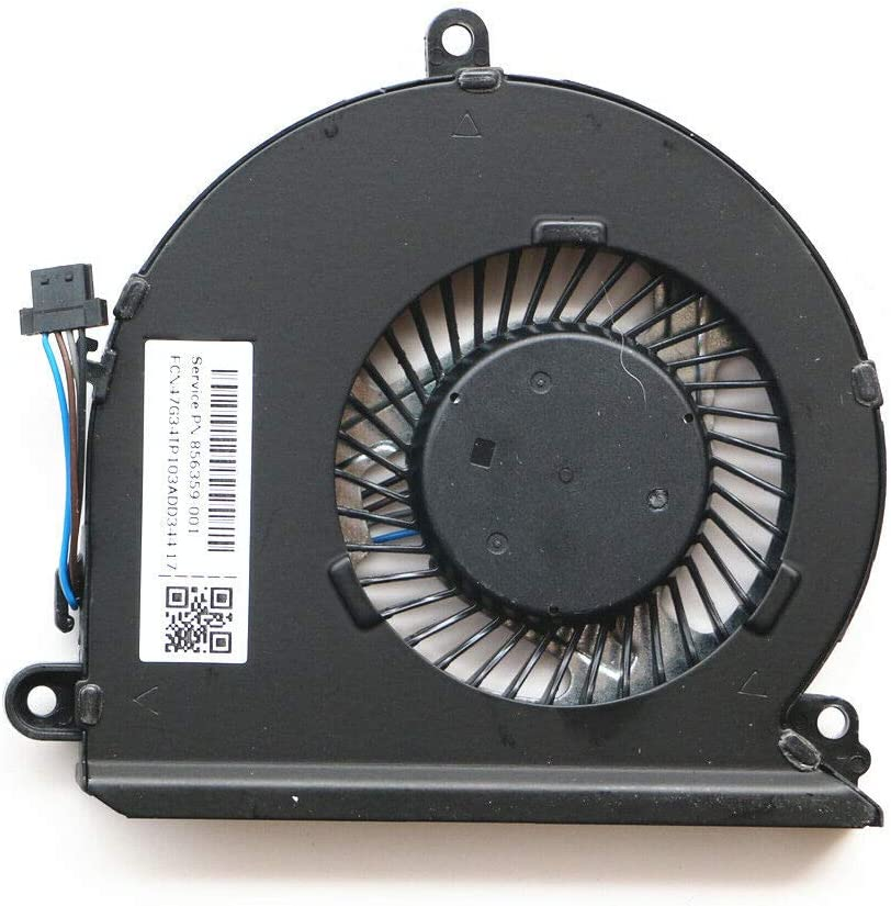 KBR Replacement CPU Cooling Fan Compatible with HP Pavilion 15-au 15-au000 15-au100 15-au500 15-au600 15-au016cl 15-au023 15-au097cl 15-au010wm 15-au020wm 15-au030wm Series Laptop P/N: 856359-001