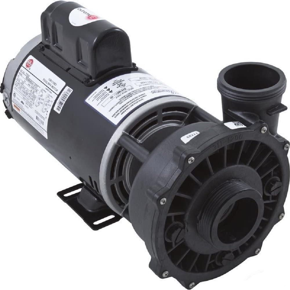 """Waterway Executive Spa Pump Side Discharge 56-Frame 2"""" 4.0Hp 230V 2-Speed 3721621-1d"""