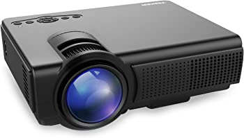 TENKER Q5 1500-Lumens LED Home Theater Projector
