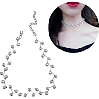 BESTOYARD elegante collar Charm simulierte perlas Choker Collar