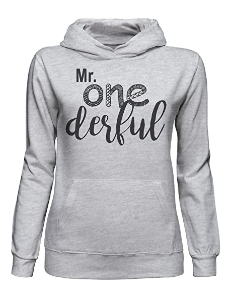 Mr. One Derful Wonderful Unique Pun Funny Sudadera con Capucha para Mujer XX-Large: Amazon.es: Ropa y accesorios