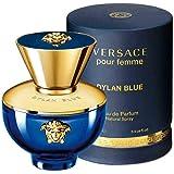 Versace Dylan Blue Pour Femme for Women Eau De Parfum Spray, 3.4 Oz