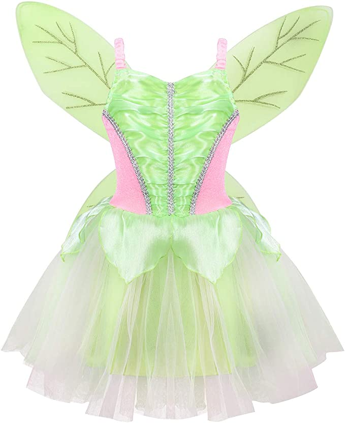 iiniim Disfraz Hada para Niña Vestido de Princesa Disfraz ...